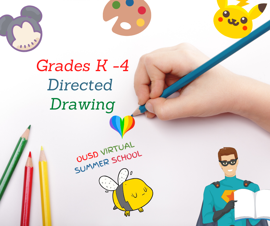 DIRECTED DRAWING – Grades K-4