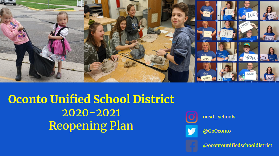 OUSD REOPENING PLAN DRAFT AS OF 7-27-20