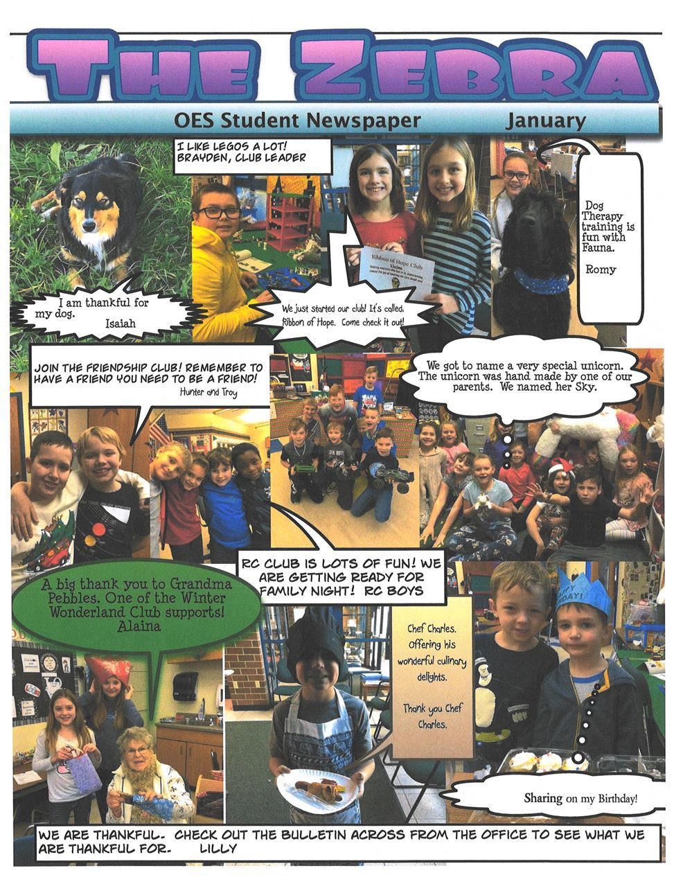 OES Student Newspaper