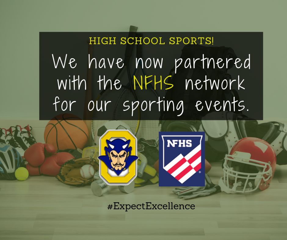 OHS partnered with NFHS for Sports Live! Read More...