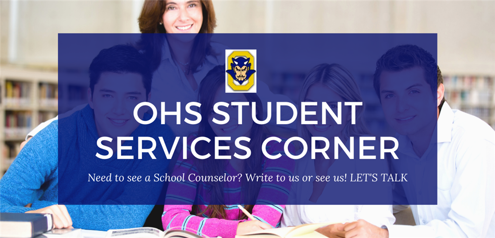 OHS Counselor's Corner