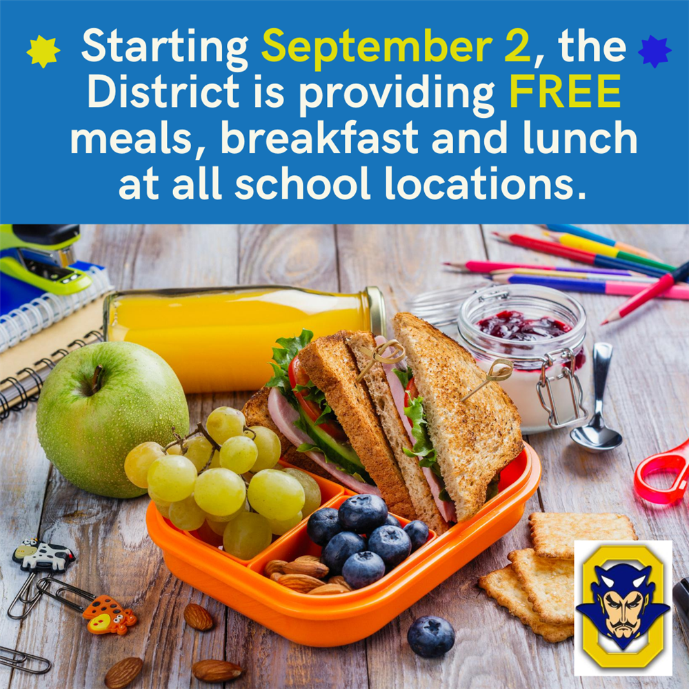 Free School Meals Begin September 2