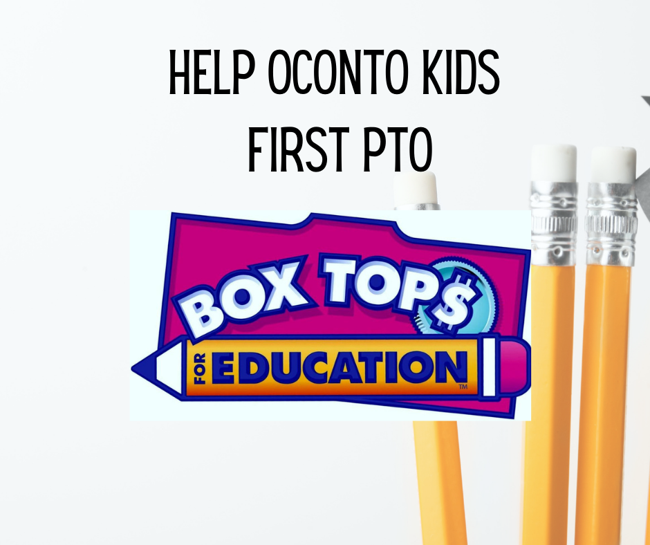 BoxTops Education App: HELP Oconto Kids First PTO