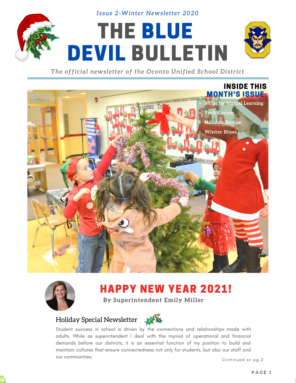Winter Newsletter is OUT!
