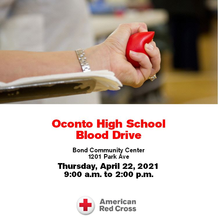 OHS Blood Drive at Bond Community Center!