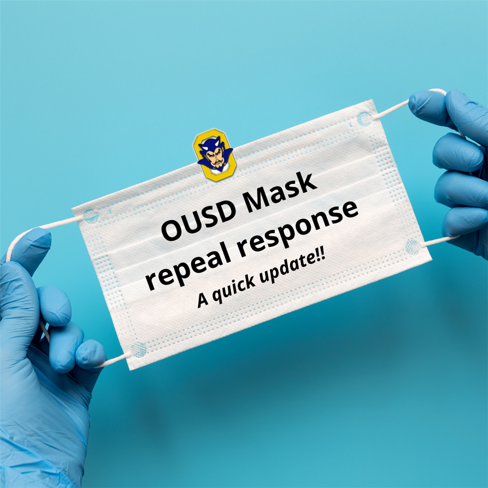 OUSD Mask repeal response