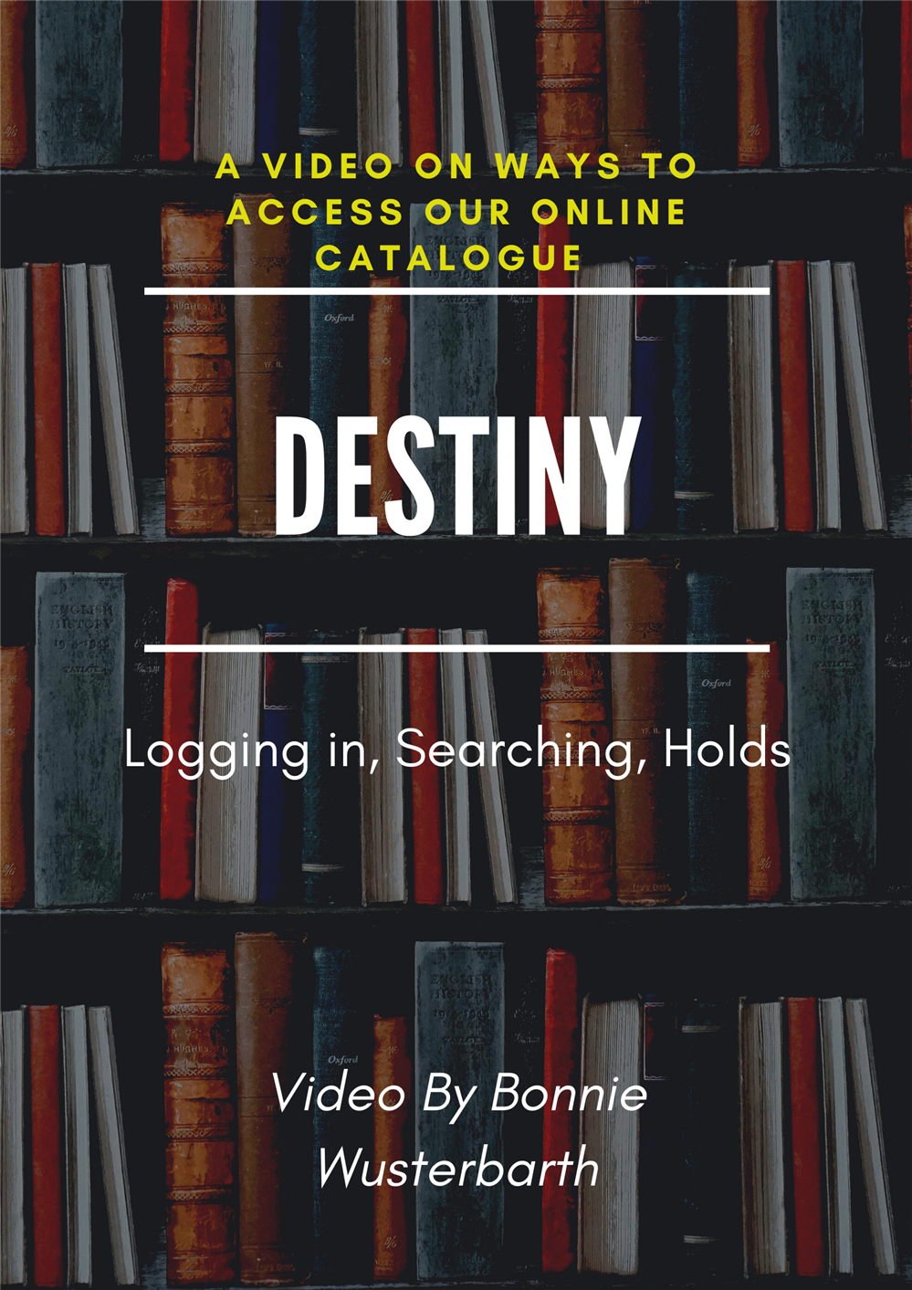 Destiny - Logging in, Searching, Holds!