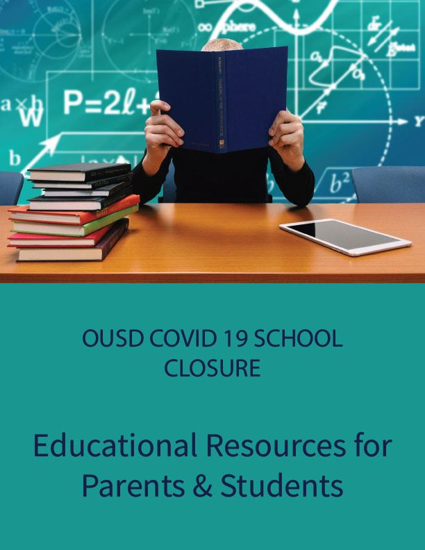 NEW* Covid 19: Educational Resources for Parents (March 23, 2020)